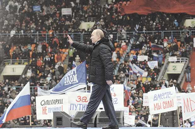 El partido de Putin no pierde poder ni siquiera con menos apoyo