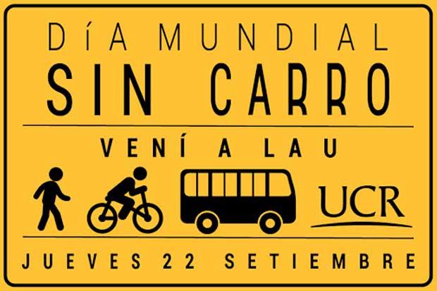 """UCR instalará toldos con """"ciclo parqueos"""" durante Día Mundial sin Carro"""