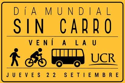UCR instalará toldos con ciclo parqueos durante Día Mundial sin Carro