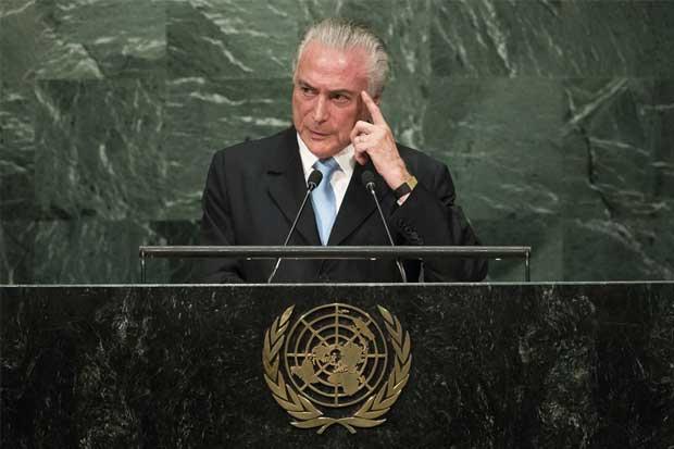 Luis Guillermo Solís abandona Asamblea de la ONU ante intervención del presidente brasileño