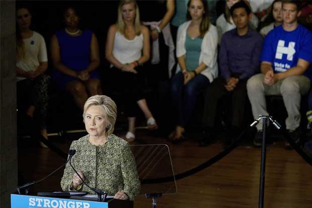 Personas de mayores ingresos apoyan a Clinton