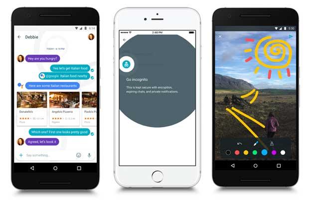 Google lanza Allo, app para mensajería