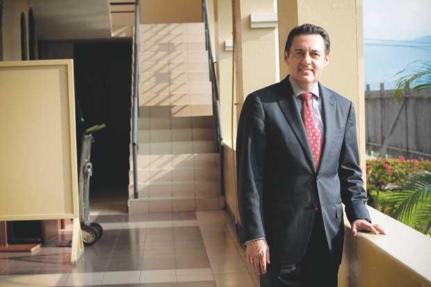 """Antonio Álvarez: """"Nunca he dicho que tengo el respaldo de Óscar Arias"""""""