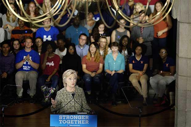 Votantes indecisos no serán blanco fácil para Clinton y Trump