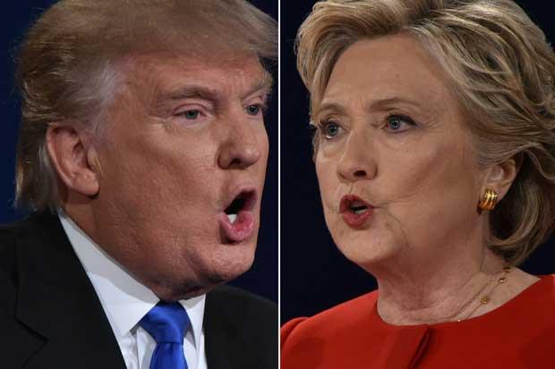 Primer debate entre Trump y Clinton, el más visto de la historia