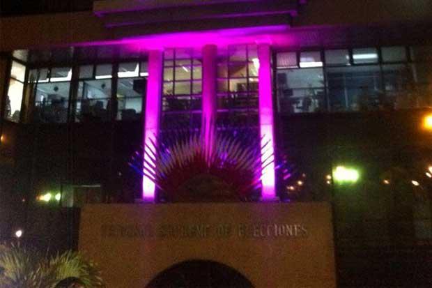 TSE se iluminará de color rosa durante octubre