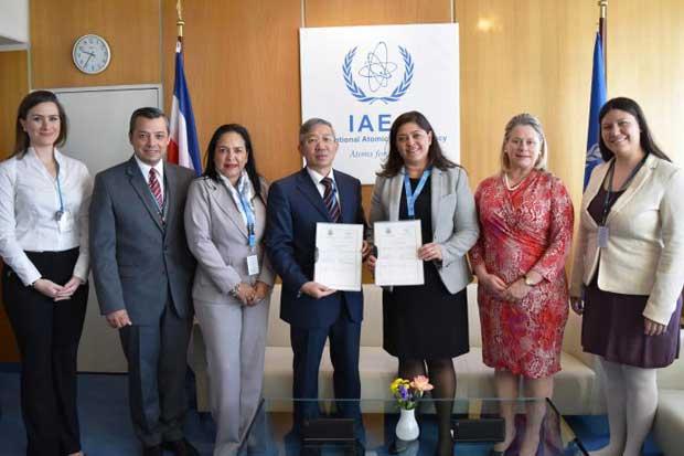 Costa Rica potenciará el uso de energía nuclear con fines pacíficos