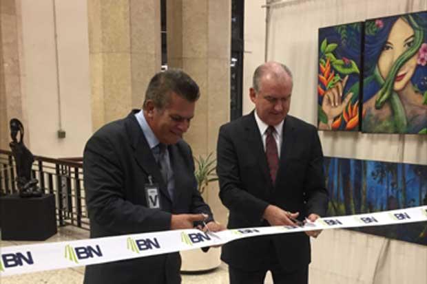30 artistas expondrán sus obras en el Banco Nacional
