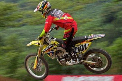 Roberto Castro, subcampeón en Latinoamericano de Motocross