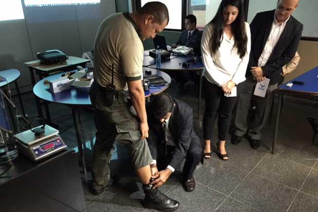 90 personas con arresto domiciliario utilizarán brazaletes electrónicos