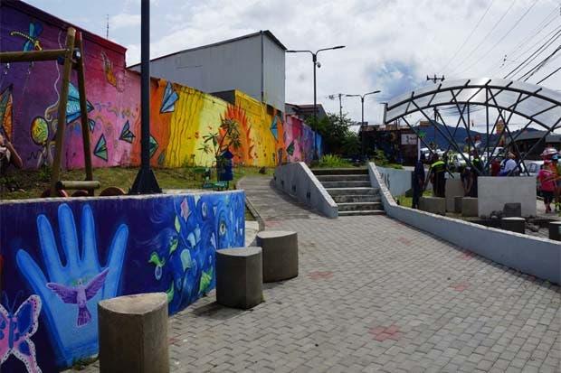 Finalizan obras del Parque de Dos Cercas en Desamparados
