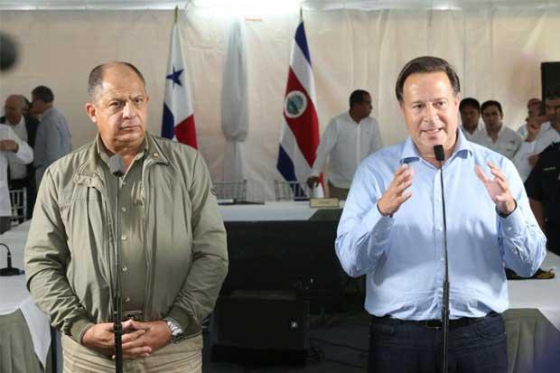 Panamá y Costa Rica cooperarán para controlar migración y narcotráfico