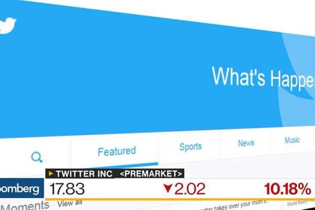 Acciones de Twitter caen luego de pérdida de interés de compradores