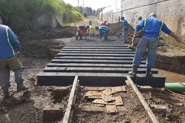 Incofer restableció servicio de tren hacia Cartago y se mantiene en alerta por lluvias