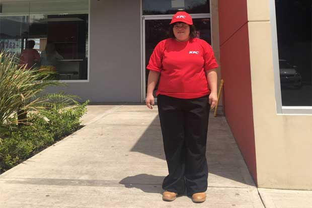 KFC inició proceso de empleo inclusivo