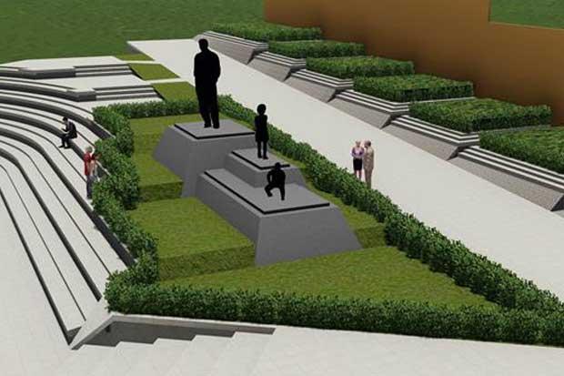 Obras previas para recolocación de monumento a Figueres Ferrer inician mañana