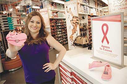 Payless se une a la lucha contra el cáncer de mama