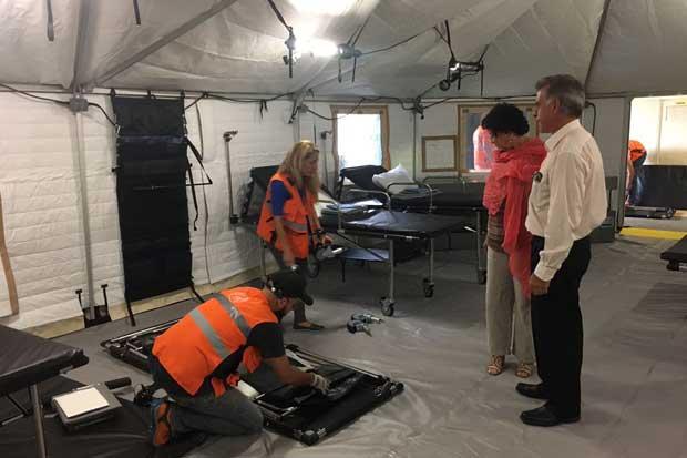 Caja adquirió unidad médica móvil