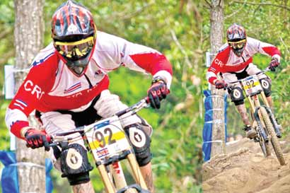 Selección tica a Panamericano de Downhill