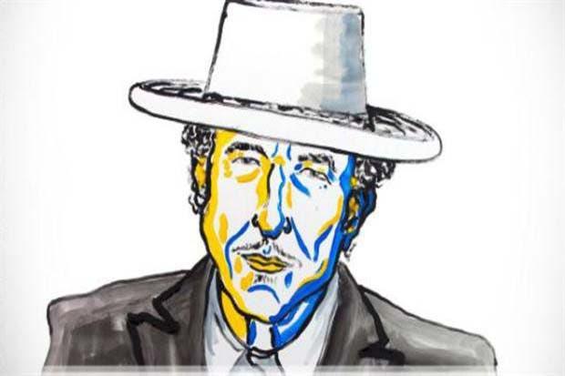 Bob Dylan recibió el premio Nobel de Literatura