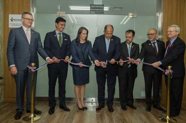 Costa Rica inauguró sede comercial en Corea del Sur