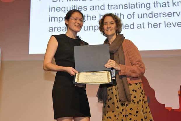 Investigadora de la UNA gana premio internacional en epidemiología