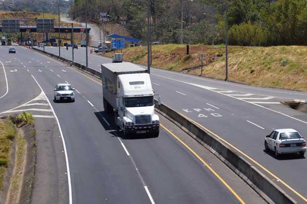 Ruta 27 tendrá carril reversible el lunes