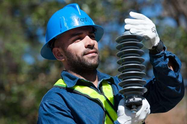 Reconstrucción de red eléctrica de Barva presenta avance del 56%