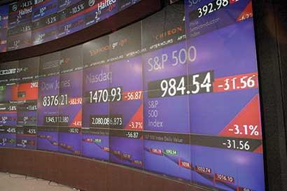 Tasa de participación S&P 500 se hunde al igual que en 2015