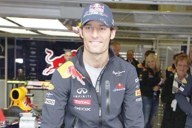 Mark Webber cuelga el casco