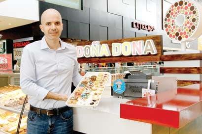 Doña Dona endulzará el mercado con cinco nuevos locales