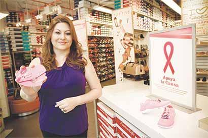 Comercios se unen a la lucha contra el cáncer de mama