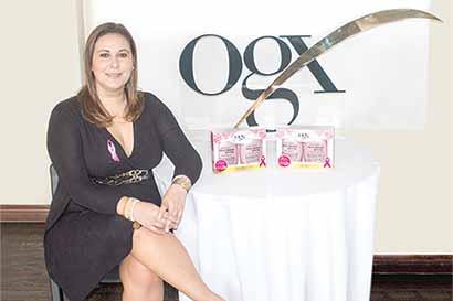 """Línea de productos """"en rosa"""" busca generar conciencia"""