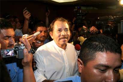 Ortega tiene amplia ventaja en elecciones de Nicaragua, según encuesta