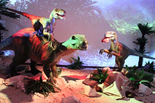 Dinosaurios visitarán Lincoln Plaza este fin de semana