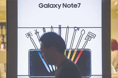 Samsung queda sumida en la melancolía tras desastre del Note 7