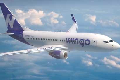 Wingo, aerolínea de bajo costo de Copa, iniciará operaciones en Costa Rica