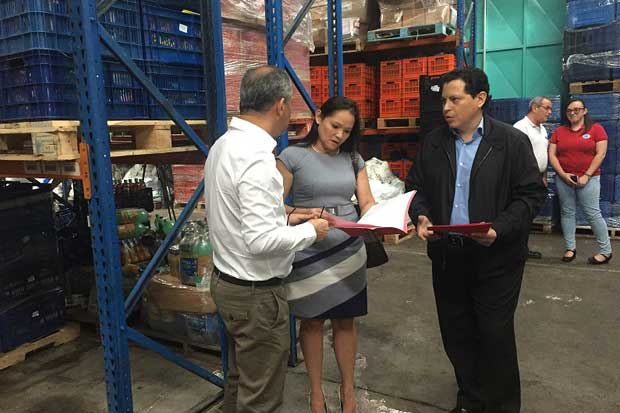 Banco de Alimentos donó ¢20 millones en comida a migrantes