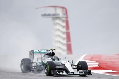 Rosberg acelera hacia el título