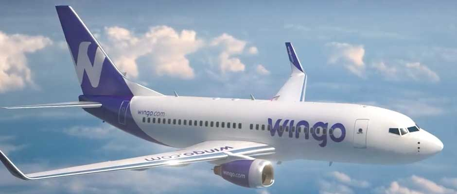 Wingo ofrece vuelos a ¢98 mil a Panamá y ¢115 mil a Guatemala