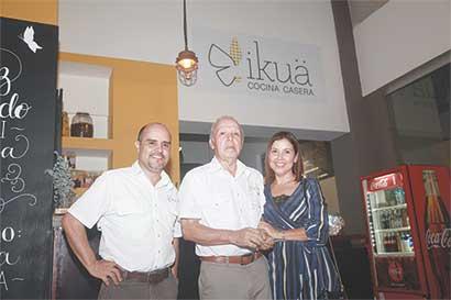 Ikuä apuesta por cocina casera contemporánea