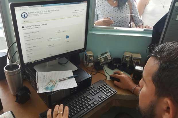 Software controlará el ingreso de visitas a cárceles
