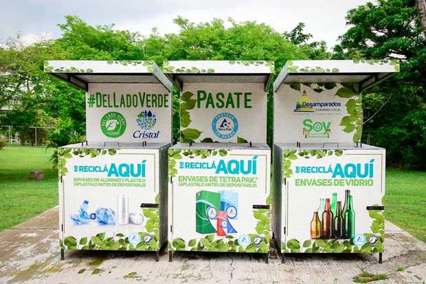 Fifco y Tetra Pak instalan 13 estaciones de reciclaje en áreas públicas del país