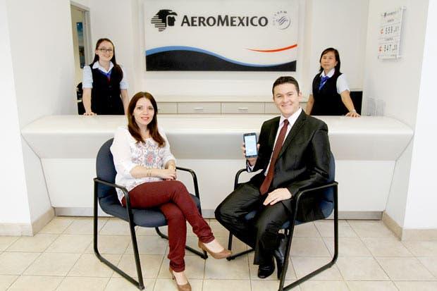 Aeroméxico complementa vuelos con tecnología