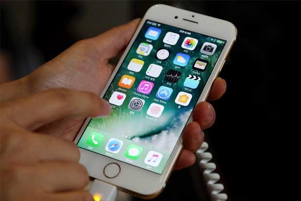 Proyecciones navideñas de Apple decepcionan, a pesar de caída de Samsung