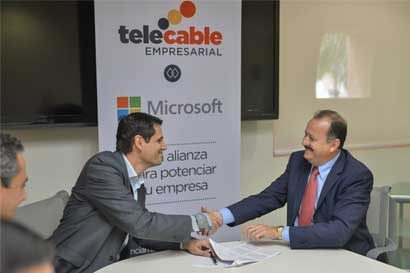 Telecable ofrecerá paquete de Microsoft Office a sus clientes