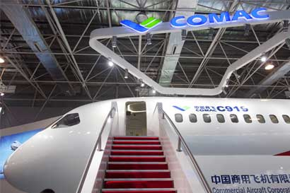 China quiere desafiar mercado de aviación con empresa estatal