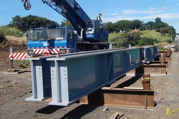 Hoy inician trabajos para colocar vigas de nuevos carriles del Virilla en General Cañas