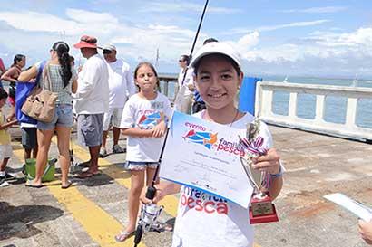 Pesca deportiva para niños