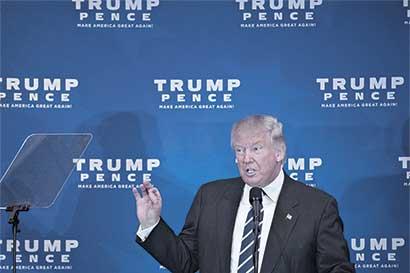 Trump perdería estados fronterizos por promesa de muro